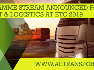 Programme Stream announced for Freight & Logistics