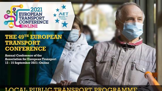 ETC 2021: Local Public Transport Conference Programme