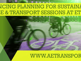 Planning for Sustainable Land Use and Transport sessions announced!