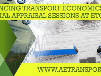 ETC 2019: Transport Economics, Finance and Appraisal sessions announced!