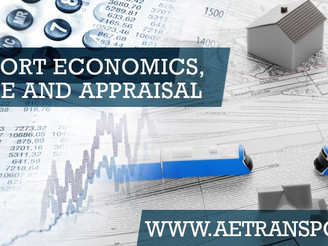 ETC 2020 Online: Transport Economics, Finance and Appraisal programme