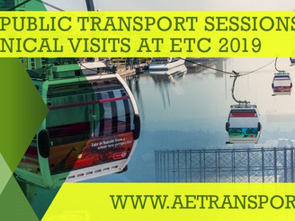 ETC 2019 Local Public Transport Sessions Announced