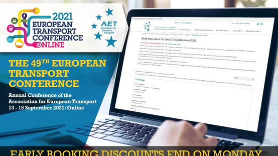 ETC 2021: Last chance to book discounted places!