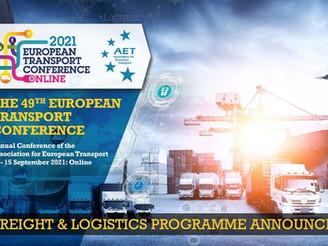ETC 2021: Freight & Logistics programme