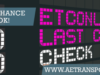 ETC 2020: Last chance to book!