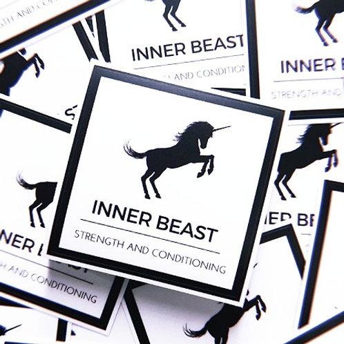 Inner Beast sticker