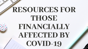 Resources for those financially affected by Covid19
