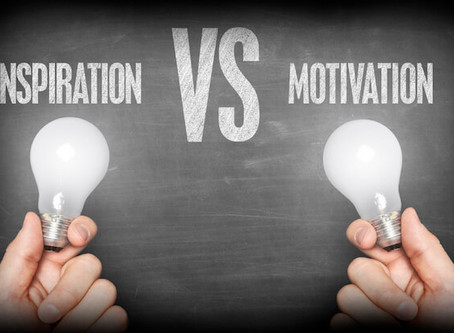 Inspiration VS Motivation