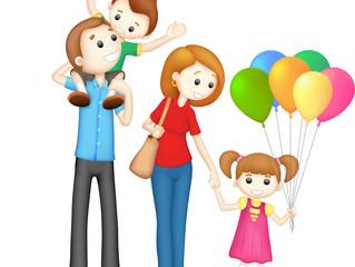 家庭 - Jiātíng - семья; дом; домашний; семейный