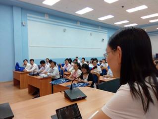 Синхронный перевод для большой аудитории не проблема для китайского центра!