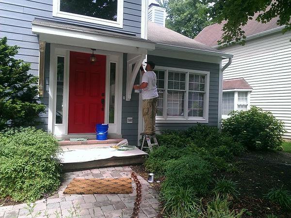 Exterior House Painter Pasadena Maryland
