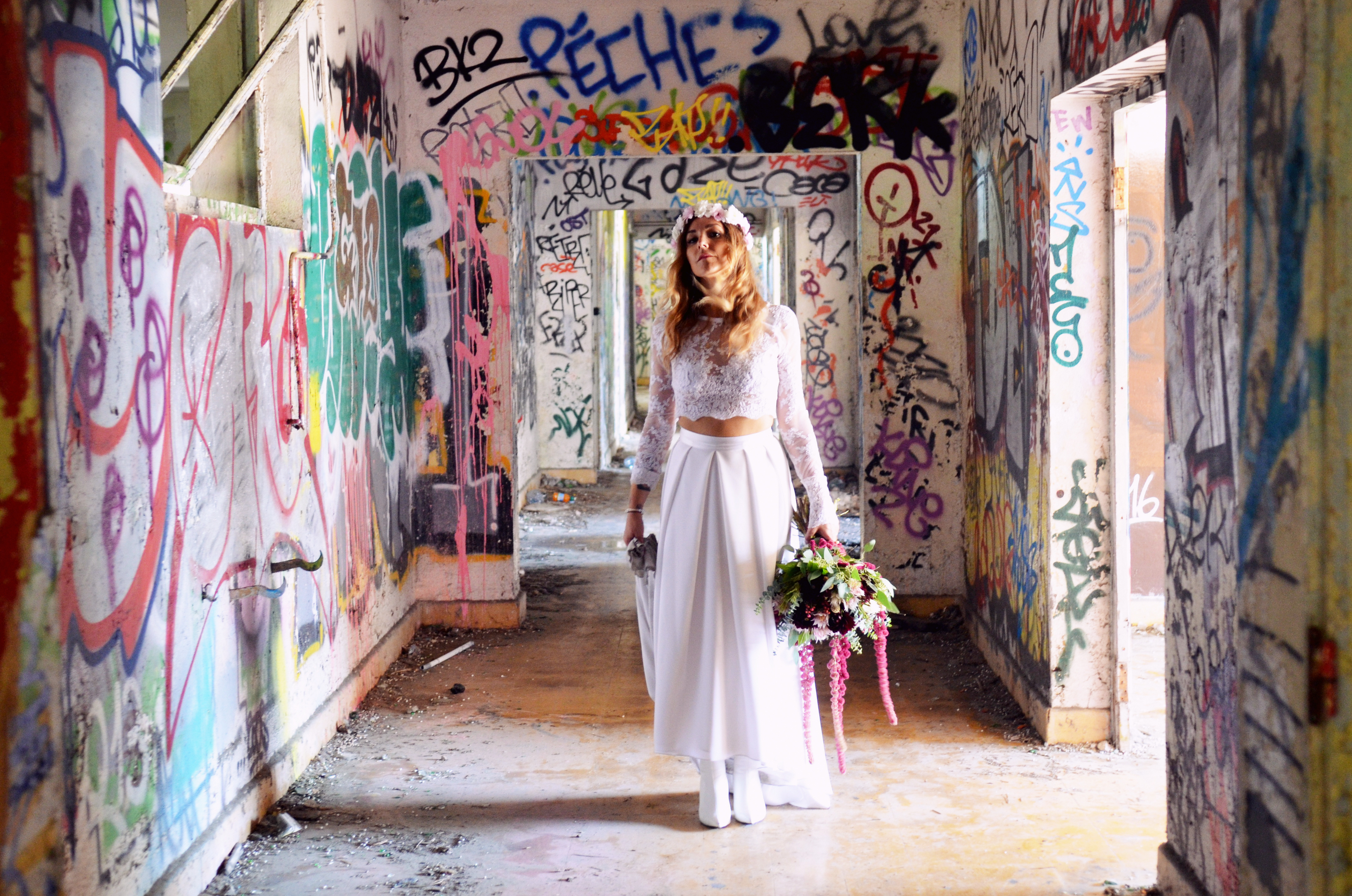 Urbex Trash The Dress Montpellier-064