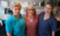 Fotterapeut Helene, Sonja og Anniken