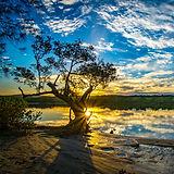 RL 170501 river sunset bundjalung.jpg