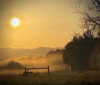 Jim Brown - Sunrise Hayrake
