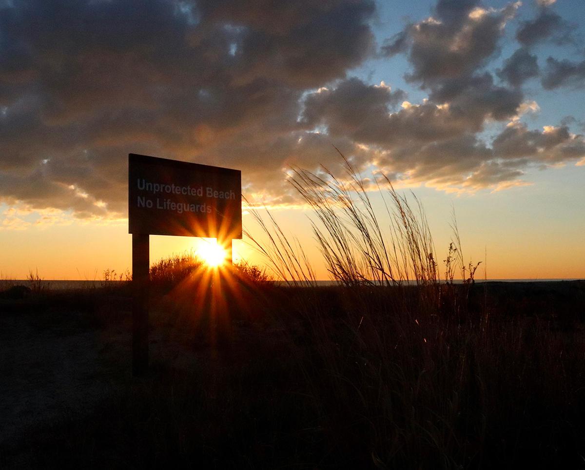 Brianna Butkoff - Sandy Hook Beach Sunrise