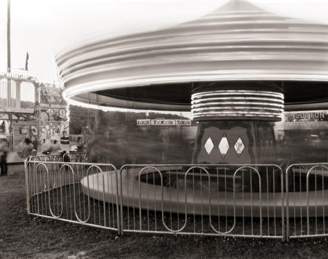 Eben Ostby - Carousel at the BVFD Carnival