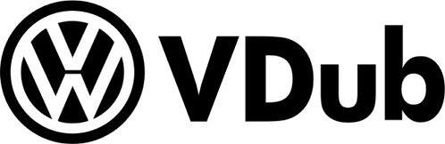 VDUB Rat VW  Euro Drift Vinyl Decal Sticker VW funny sticker decal