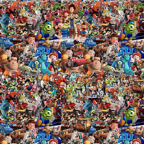 Pixar Kids Movie Sticker Bomb