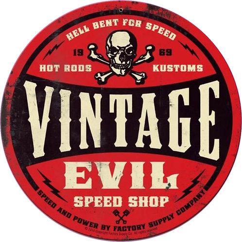 Vintage Evil Red