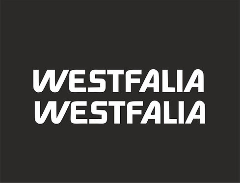 2 x Westfalia Campervan Vinyl Decal