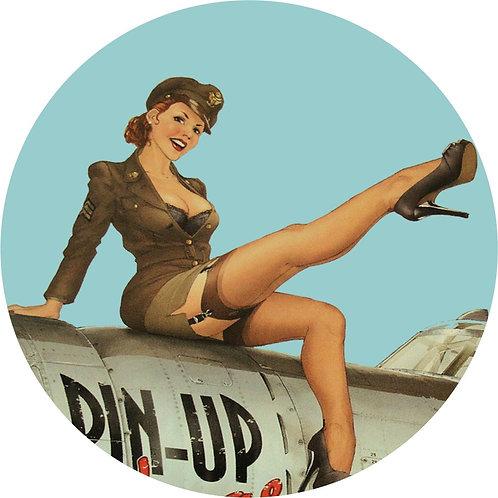 Pin-up Sticker 4