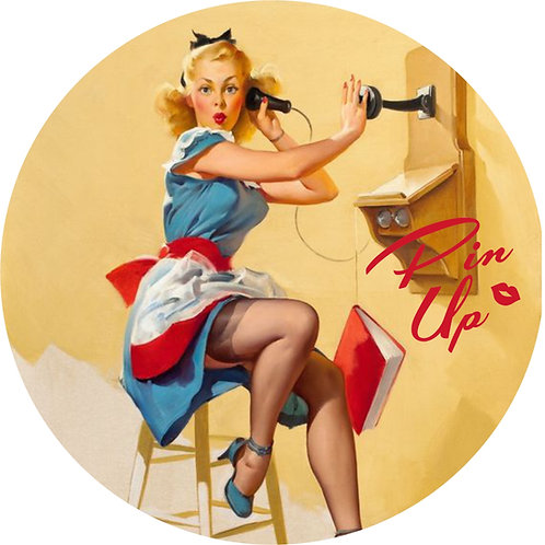 Pin-up Sticker 19