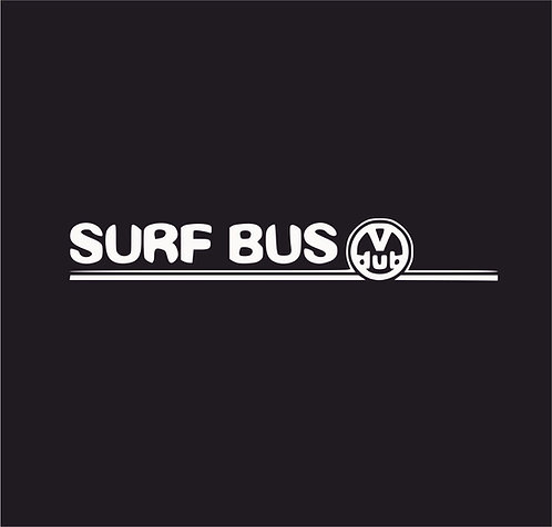 Surf Bus Hawiian Flower Vw
