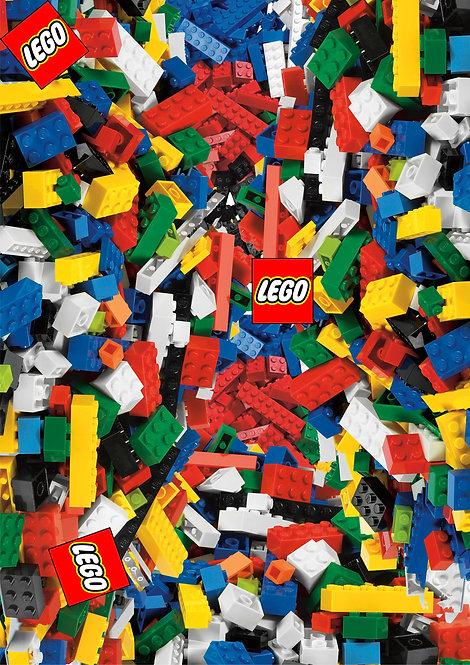 2 x Lego Sticker Bomb