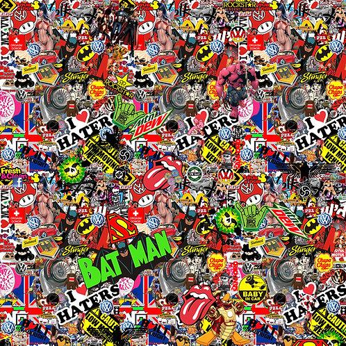 Vw Dub Euro Sticker Bomb