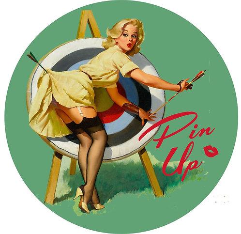 Pin-up Sticker 2