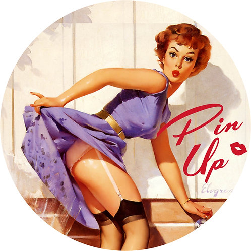 Pin-up Sticker 17