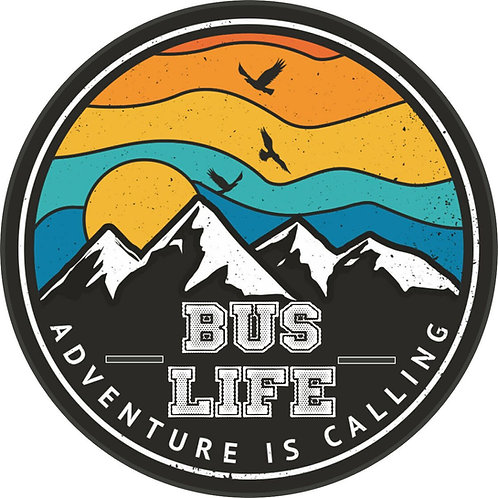Adventure is Calling Bus  Life