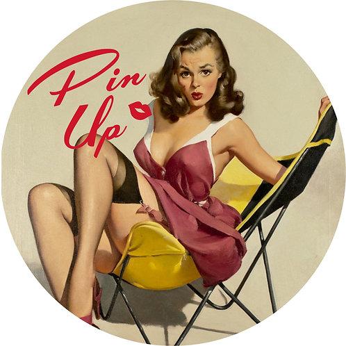 Pin-up Sticker 12