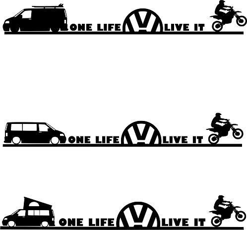 One Life Live It Motocross