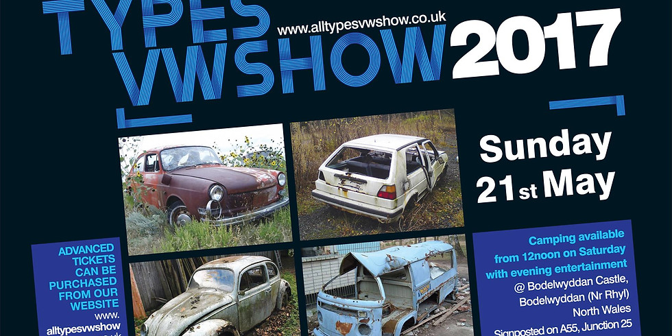 All Types VW Show 2017