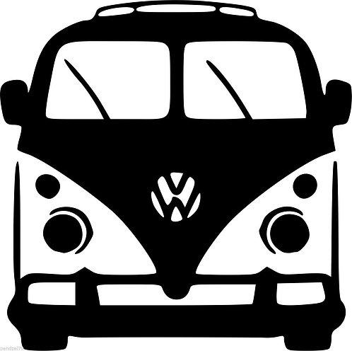 Camper Volkswagen surf car  Vinyl Decal Sticker VW funny