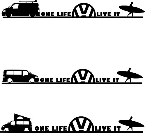 One Life Live It Surf