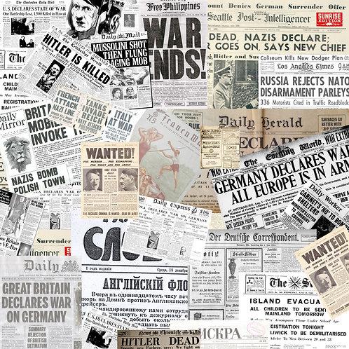 German Newspapers Sticker Bomb