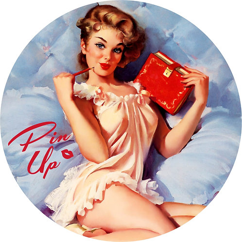 Pin-up Sticker 11