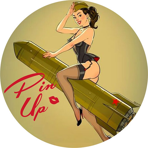 Pin-up Sticker 21