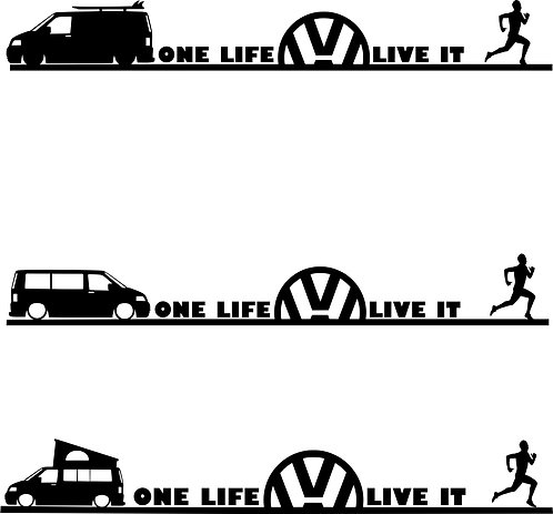 One Life Live It Running