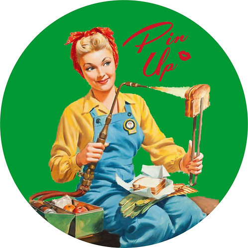 Pin-up Sticker 22