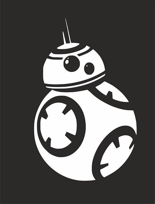 Star Wars - Force Awakens - The Last Jedi - Vader - BB - Joda- Stormtrooper