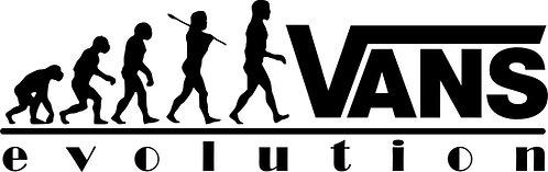EVOLUTION VW Campervan Vans  Vinyl Decal Sticker VW funny