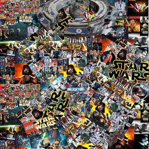 Star Wars Sticker Bomb
