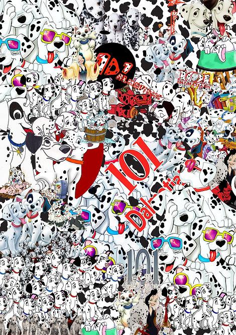 2 x 101 Dalmatians Sticker Bomb