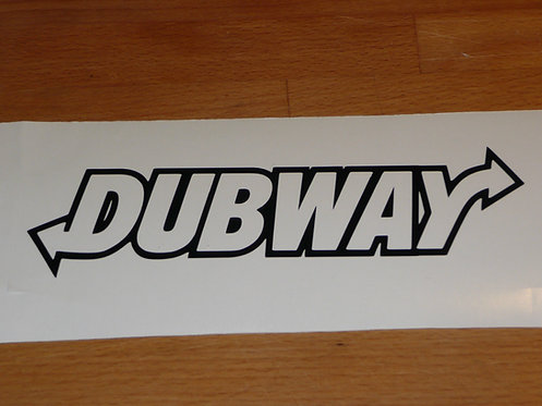 Dubway Euro Drift Vinyl Decal Sticker VW funny sticker decal