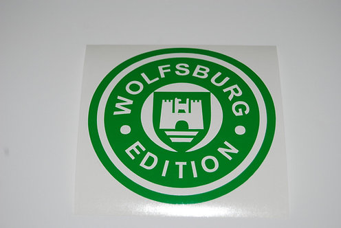 """Wolfsburg Edition"" Euro Drift Vinyl Decal Sticker VW funny sticker decal"