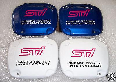 2 x Subaru Impreza WRX STI Replacement Fog Lamp Cover decals Stickers